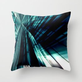 The mirror of the soul Throw Pillow