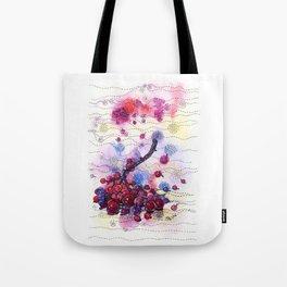 Wnter Berries Tote Bag