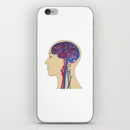 Universe in Brain_B iPhone Skin