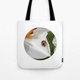 ladybug macro XVI Tote Bag