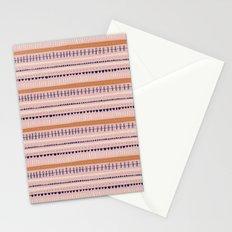 Pink & Orange Pattern Stationery Cards