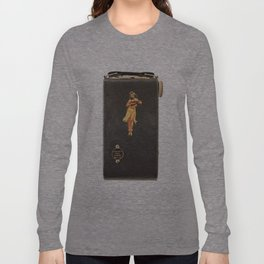 Hula Only While Winding Long Sleeve T-shirt