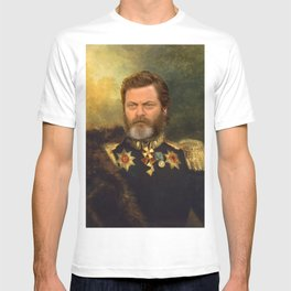 Nick Offerman Classical Painting Photoshop T-shirt