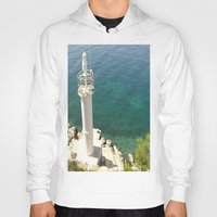 lighthouse Hoodies featuring Lighthouse by Bitifoto