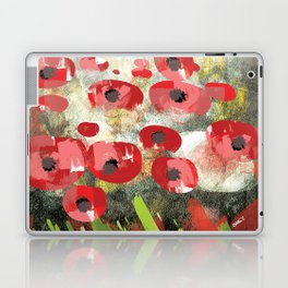 angela's poppies Laptop & iPad Skin
