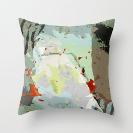 aerial variation 1 Throw Pillow