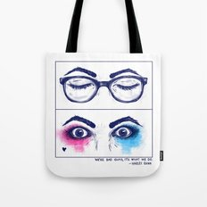 Harley Quinn. Awake for evil. Tote Bag