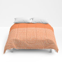 Riverside - Celosia Orange Comforters
