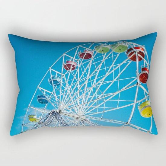 Carival Ferris Wheel Rectangular Pillow