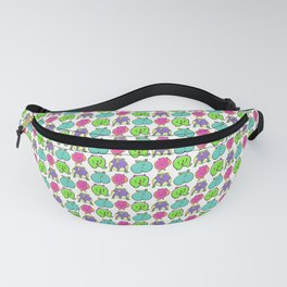 Colorful Hamster Butts Pattern Fanny Pack