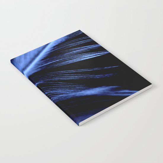 Blue Feather Notebook