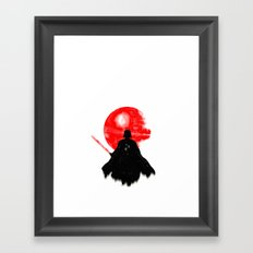 Dark Father. Framed Art Print