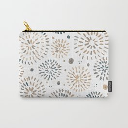 Abstract watercolor sparkles – neutral Carry-All Pouch