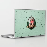 miley cyrus Laptop & iPad Skins featuring Miley Cyrus by Jamie Luna