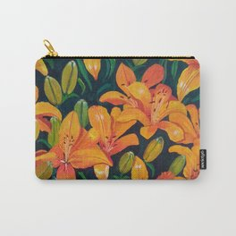 Daylilies in the Garden Carry-All Pouch