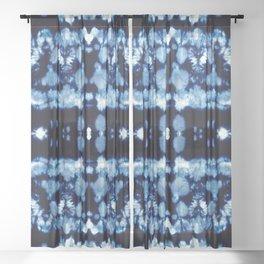 Tie-Dye Shibori Neue Sheer Curtain