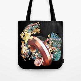 Ring & Flowers Tote Bag