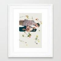 wedding Framed Art Prints featuring Wedding by Nash Cubero