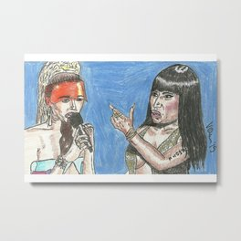 """Miley, What's Good?"" 2015 Metal Print"