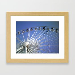 Wheel of Liverpool 2 by FGW Framed Art Print