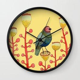 le petit matin Wall Clock