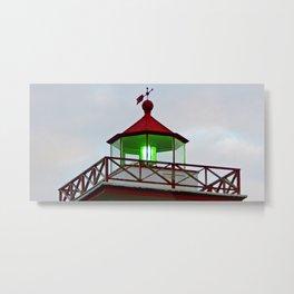 Green Lantern of Wood Islands Metal Print