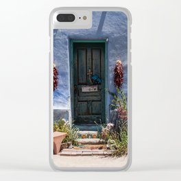 Barrio Viejo #1 Clear iPhone Case