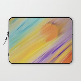 """Catch the Sun #1 – Sequel #1"" Oil Painting Laptop Sleeve"