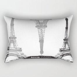 WE LOVE PARIS Rectangular Pillow
