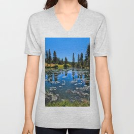 By The Lake Unisex V-Neck