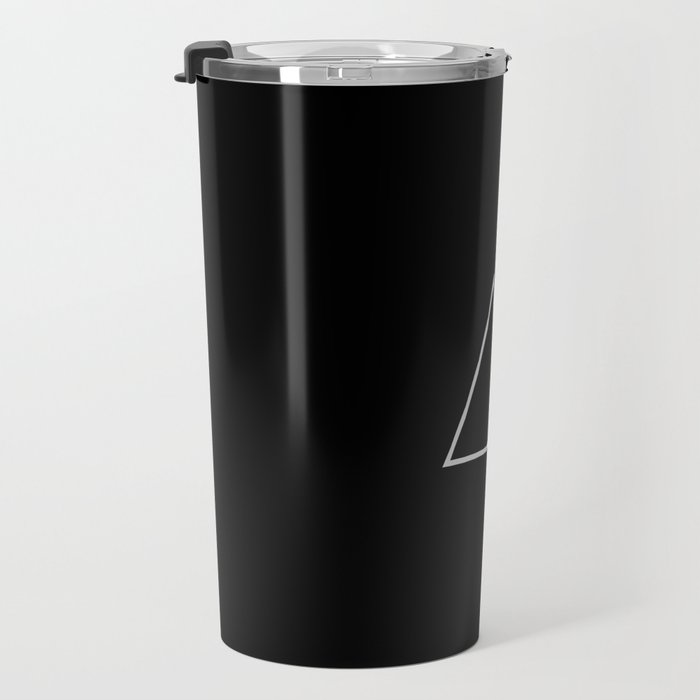 A R T I F △ C T ▽ BLK Travel Mug