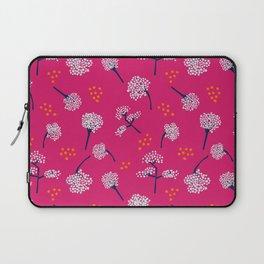 Pink Baby's Breath Laptop Sleeve