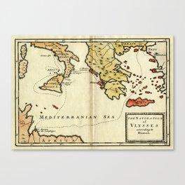 The Navigation of Ulysses Canvas Print