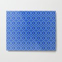 Blue and Yellow Circle Repeating Pattern by markuk97