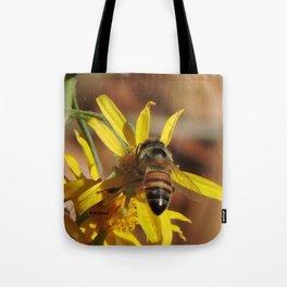 Desert Sunflower Pollen Picker Tote Bag