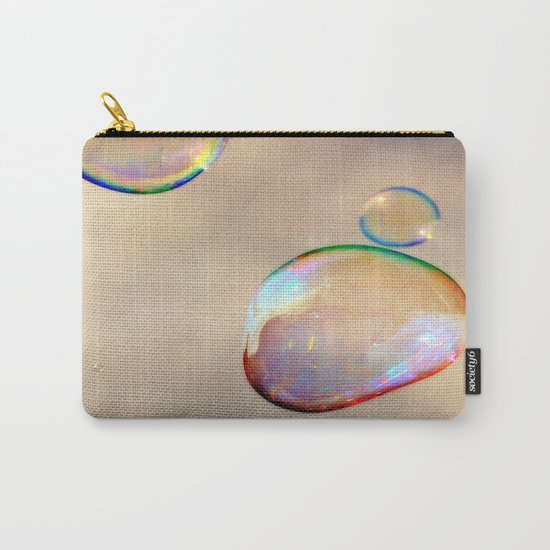 bubbles on the sky Carry-All Pouch