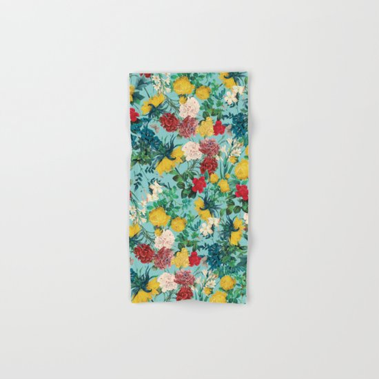 Summer Botanical III Hand & Bath Towel