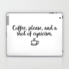 Gilmore Girls - Coffee and Cynicism Laptop & iPad Skin