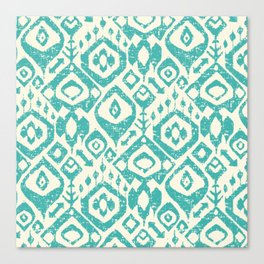 lezat turquoise Canvas Print