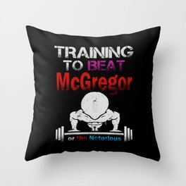 Training to beat the notorious Throw Pillow