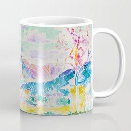 """Henri-Edmond Cross """"Les Monts des Maures"""" Coffee Mug"""