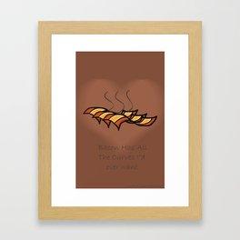 Bacon  Framed Art Print