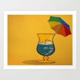 Summertime! Art Print