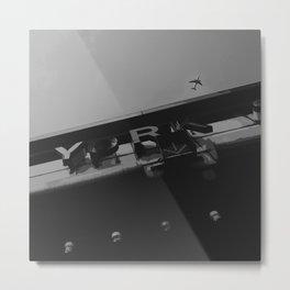 The Capture Above Metal Print