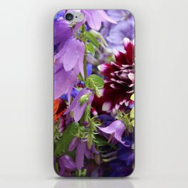 Profusion of Flower Friends By Mandy Ramsey iPhone Skin