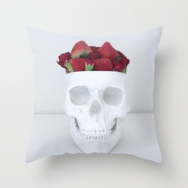 I like you. Can I eat your brain? Throw Pillow