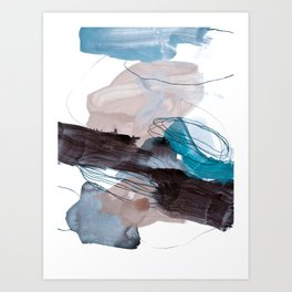 abstract painting VIII Art Print