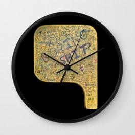 Boring Ship Wall Clock