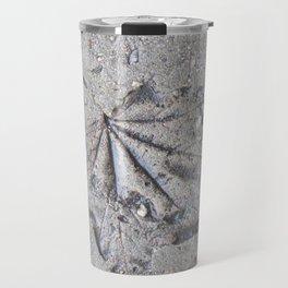 """""""Sidewalk Fossil"""" Travel Mug"""