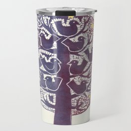 Untitled (tree), etching Travel Mug